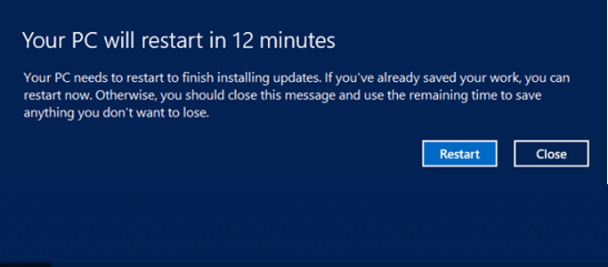 In 15 min your computer will…